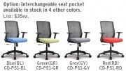 4 seat colors