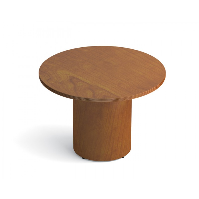 Otg Ventor Wood Veneer Round Conference Table