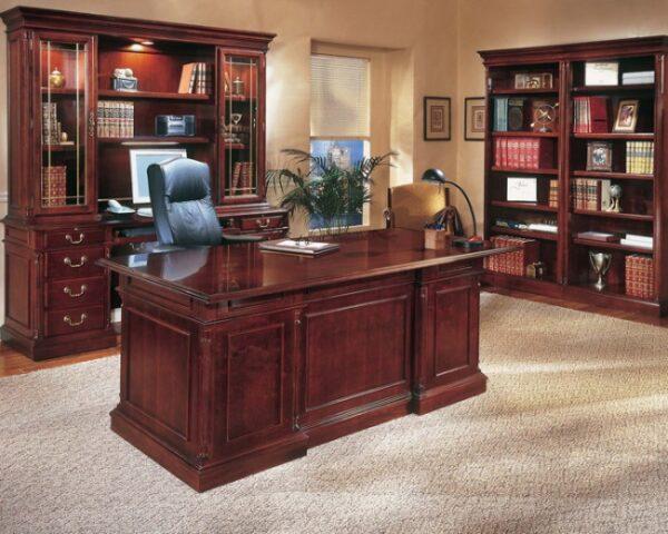 DMI KESWICK Wood Veneer Office Suite
