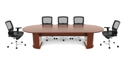 CHERRYMAN EMERALD Series Wood Veneer Conference Table