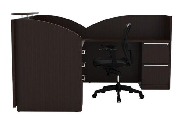 CHERRYMAN VERDE 6′ X 6′ Reception L-Desk