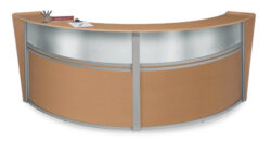 OFM Double-Unit Marque Plexi-Reception Station