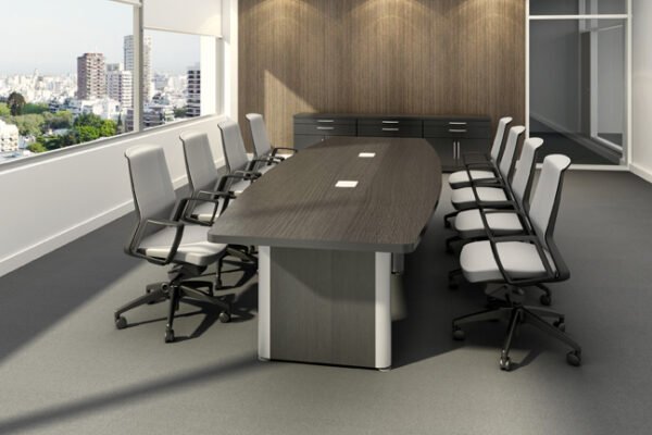 TAYCO-METROPOLIS Boat Shaped Conference Table