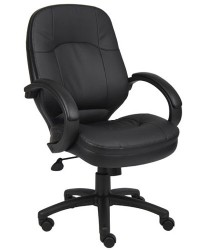 BOSS Executive Black Leather Chair