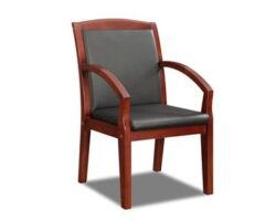 DMI BENTLY Faux Leather Guest Chair