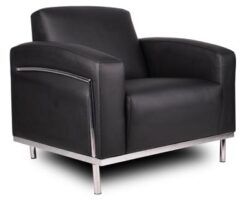 Boss Contemporary Leather Lounge Chair
