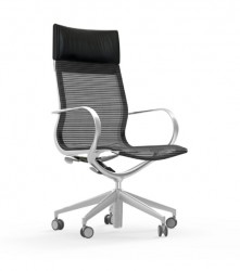 iDESK-CURVA Hi-Back Conference / Executive Mesh Chair