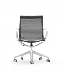 iDESK-CURVA Mid-Back Conference / Executive Mesh Chair