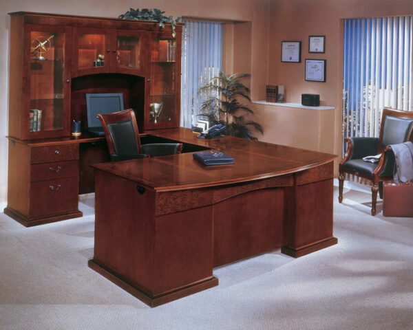 CHERRYMAN EMERALD Wood Veneer Office Suite
