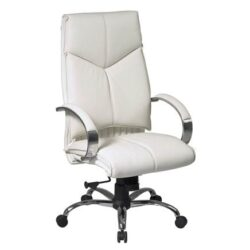 White Executive Leather Chair