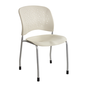 SAFCO REVE Sled Base Round Back Guest Chair