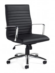 OTG Luxhide* Mid-Back Executive Chair