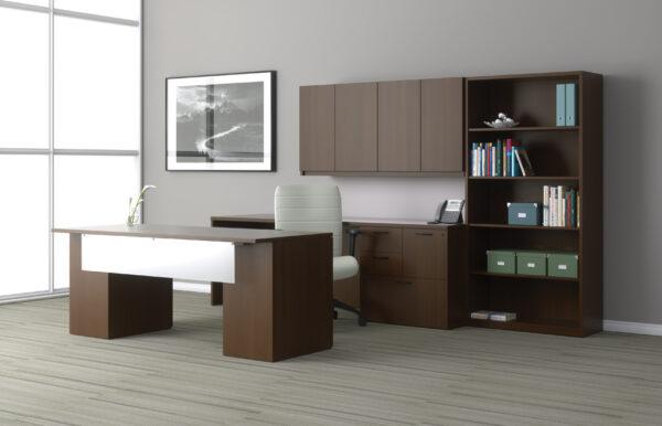 Indiana Furniture GESSO Executive Office Suite