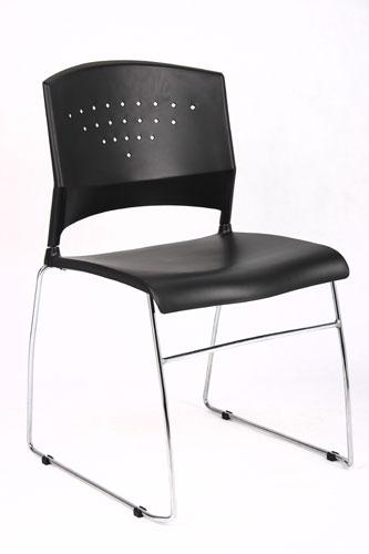 BOSS B1400 Black Stack Chair