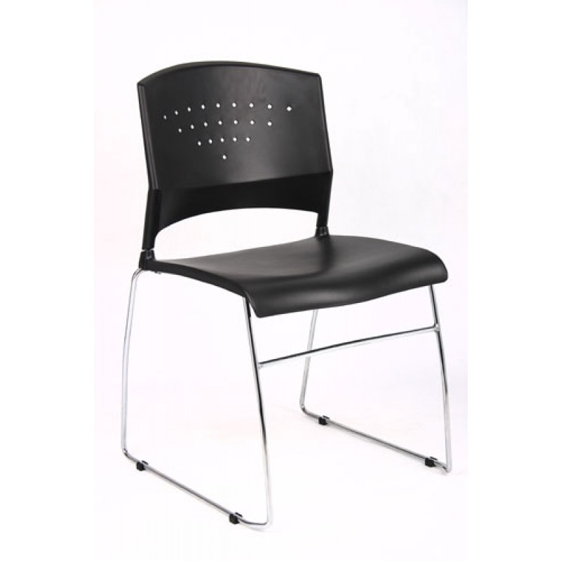 Boss B1400 Black Stack Chair