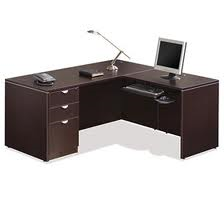 "OTG Laminate 66"" x 72"" Reversible L-Shape Desk"
