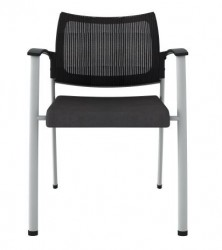 SPAZIO Mesh Back Guest Chair