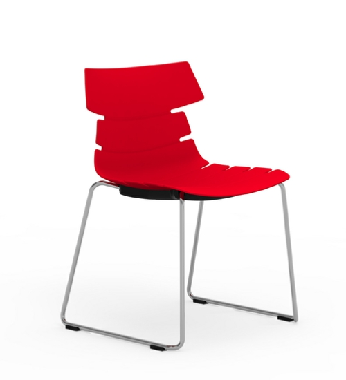 iDESK-TIKAL Sled Base Chair