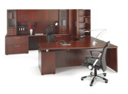 Artopex Phase Wood Desk Series