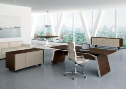 ADAPTA Metar Walnut Executive Suite