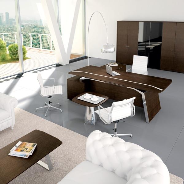 4 - Metar Dark Walnut Executive Suite