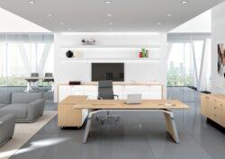Adapta Designs Metar Dark Maple Executive Suite