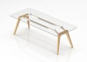 8 – Metar Glass table