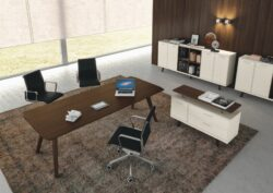 9 - Wood Executive Desk