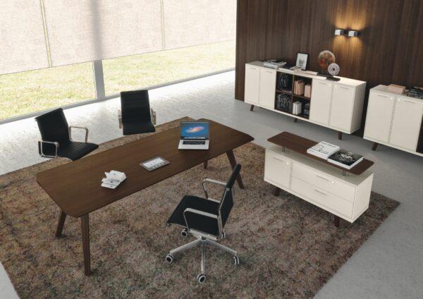 Adapta Design Wood Executive Desk