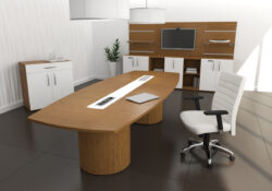 ARTOPEX Essentia Boat Shape Conference Table