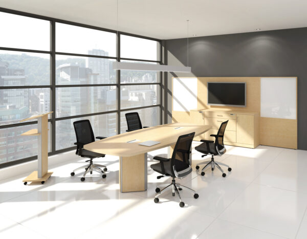 TFL Boat Shaped Conference Table